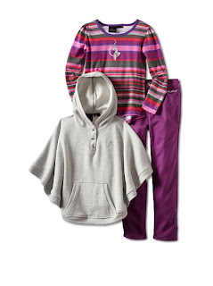 MyHabit: Save Up to 60% off Baby Phat Girls - 3-Piece Pant, Poncho and Stripe Tunic Set