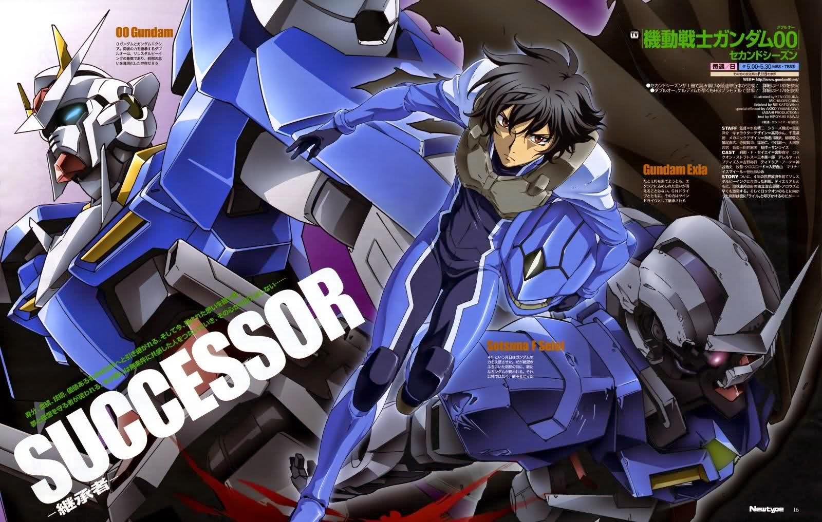 Mobile Suit Gundam OO Season 1