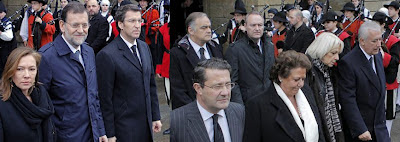 Rajoy, Feijoo, Arenas, González Pons