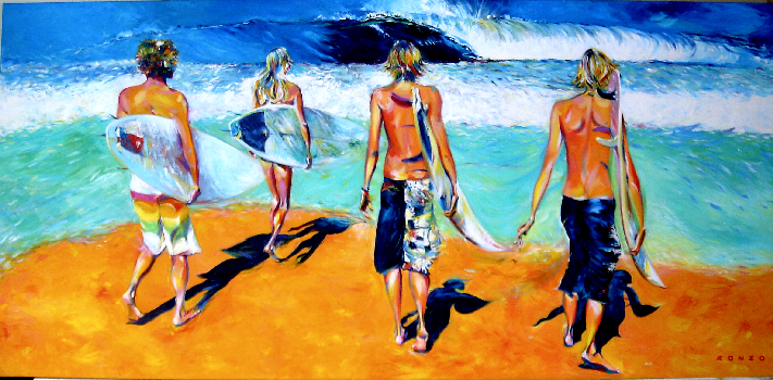 ronzo surf art