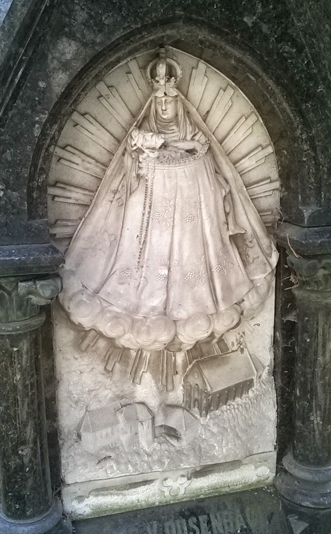A Napba öltözött asszony - Ribeauvillé fölött... / Die Frau in der Sonne gekleidet... Ribeauvillé