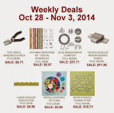 Items on Sale! Oct 28 to Nov 3