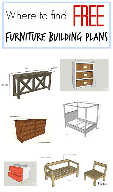 Where to find hundreds and hundreds of FREE furniture building plans