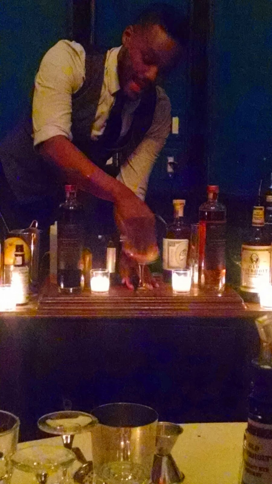 Derrick Turner Hardings NYC preps Cocktail