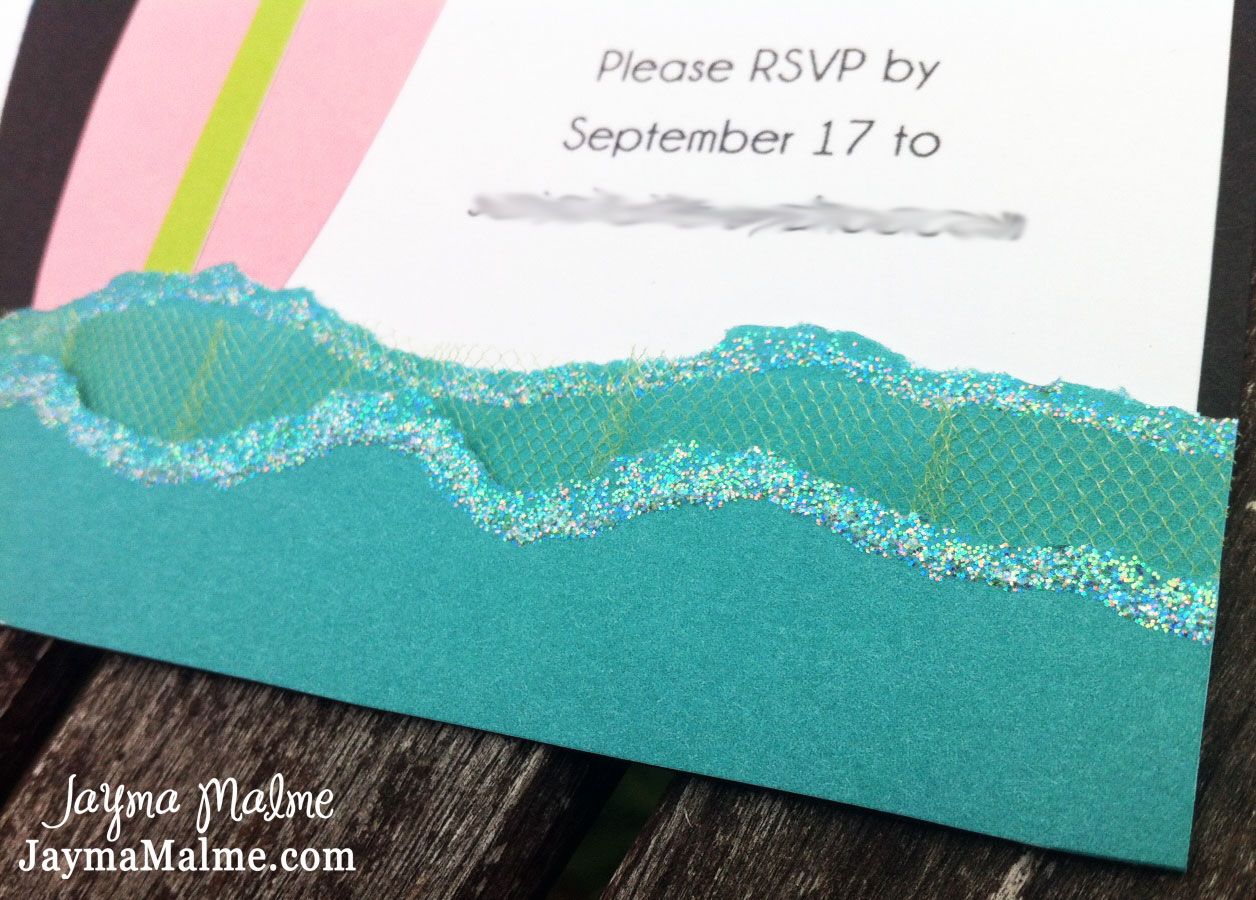 Playing with Paper: Scrapbooks, Cards & DIY: Surfer Girl Baby Shower ...