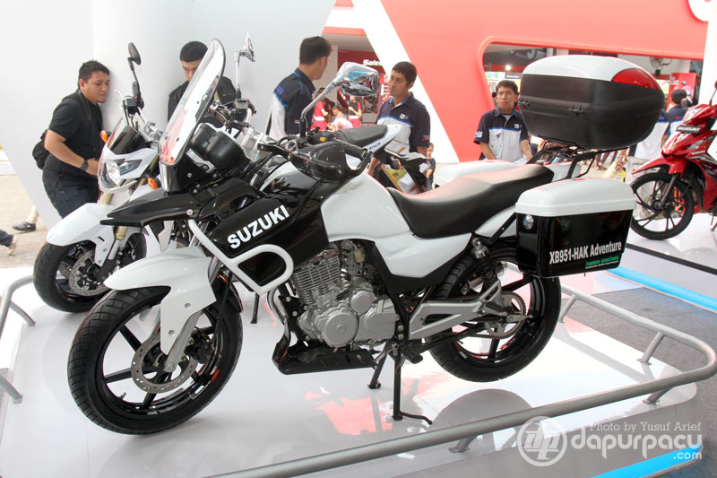 Suzuki Thunder 125 Adventure Bike