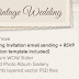 Vintage Wedding Responsive WordPress Theme