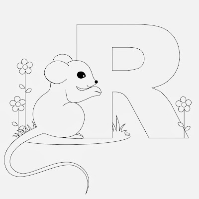Printable Preschool Alphabet Letter F Coloring Pages