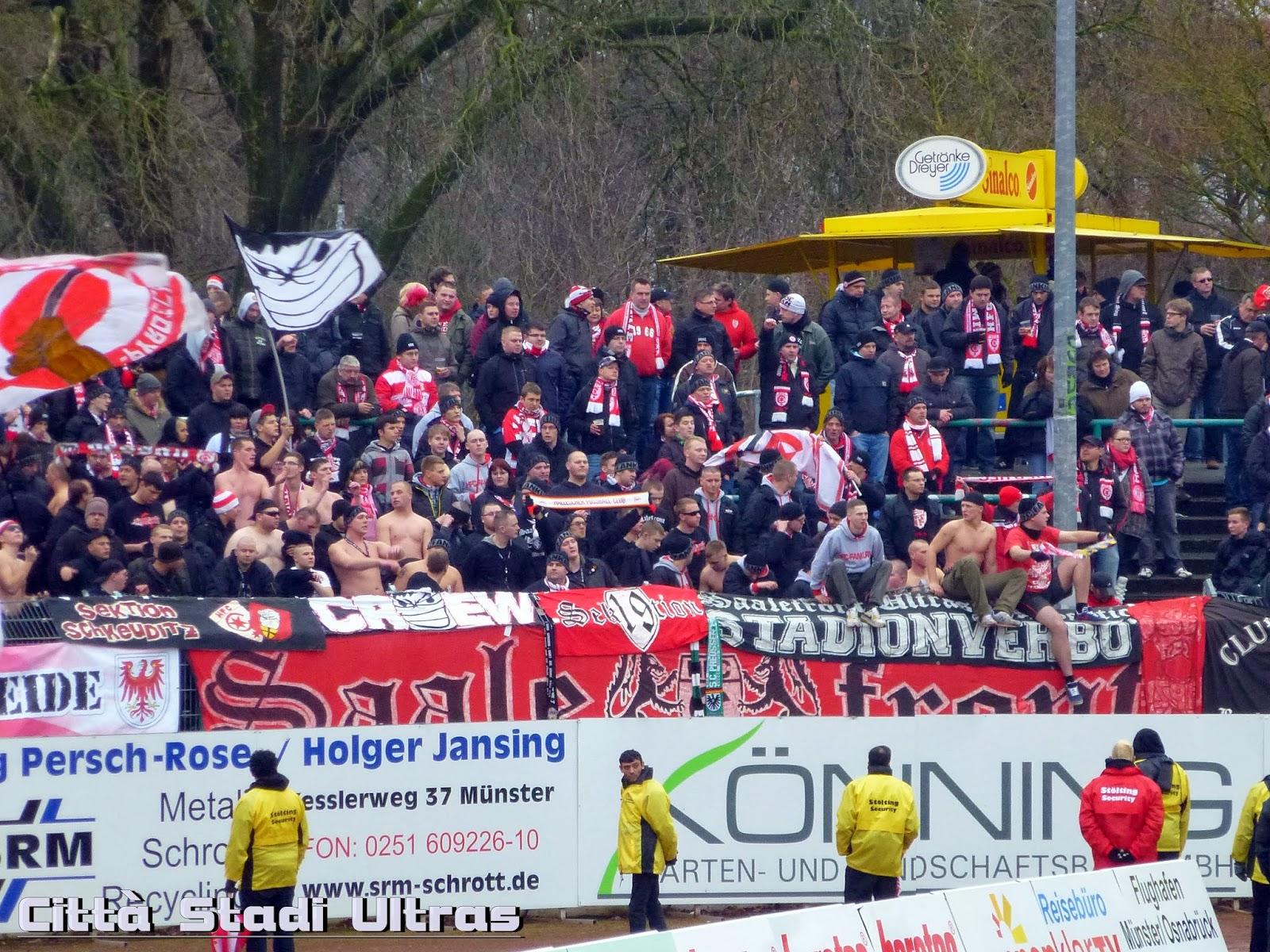 Città Stadi Ultras: SC Preußen Münster - Hallescher FC