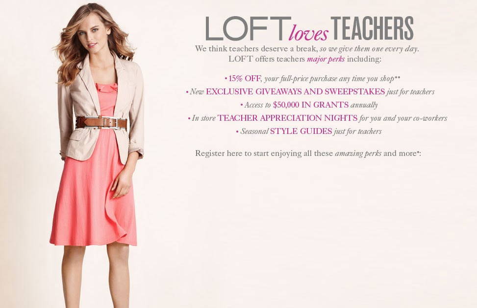 Penny Pinching Teacher Fashion Friday Loft Loves Teachers