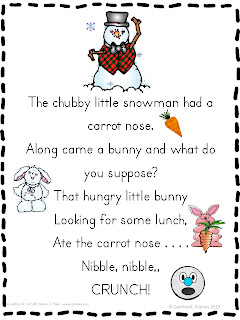 like learn more at classroomfreebiestoo com chubby little snowman poem ...