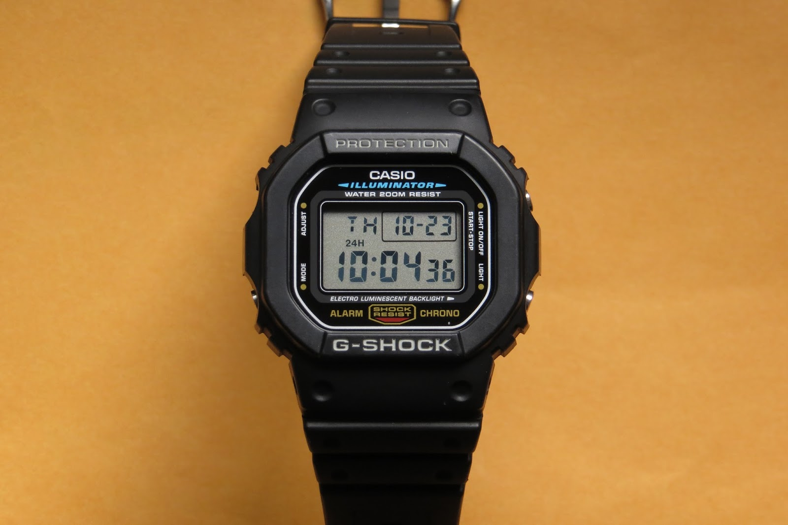 how to set casio g shock 3427