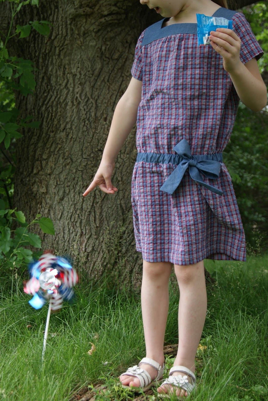 Oliver + S Croquet Dress by nest full of eggs