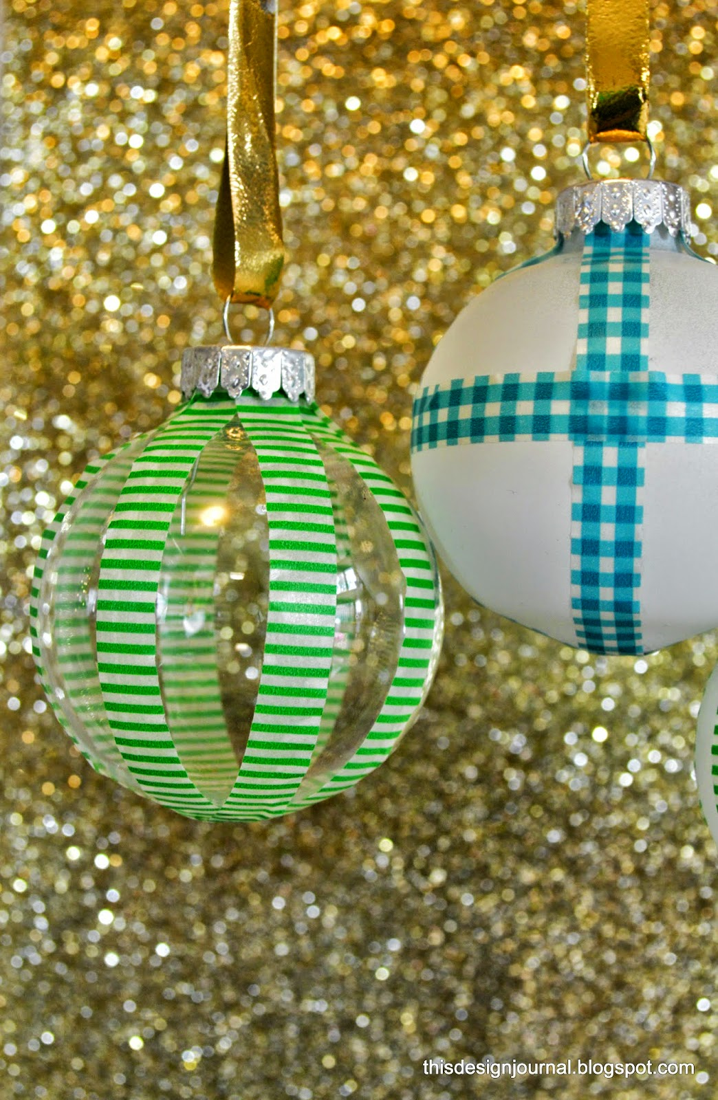 Christmas ornaments the diy way this design journal - Ornament tapete weiay ...