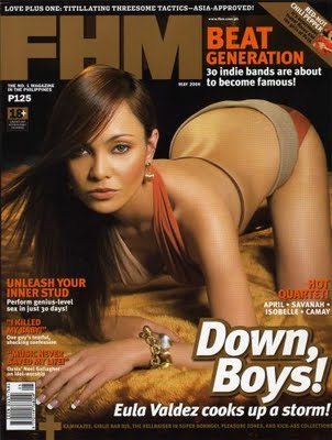Eula Valdez - FHM Cover July Issue