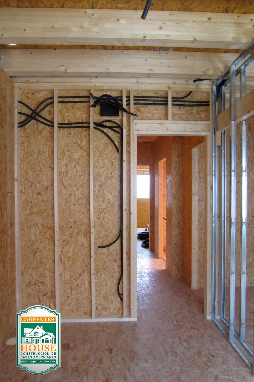 Carpenter house 6 parte construcci n casa pareada en - Instalacion electrica exterior ...