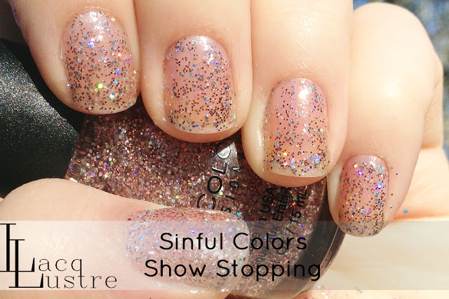 Sinful Colors Showstopping swatch
