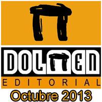 Dolmen Editorial: Novedades Octubre 2013