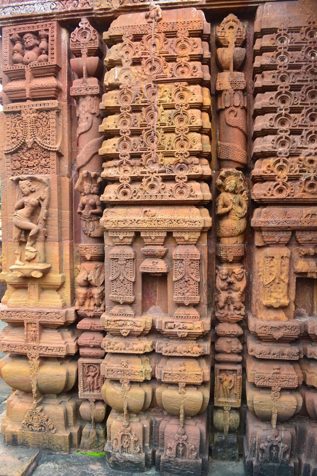 Beautiful  stone carving in Mukteswara temple ,bhubaneswar