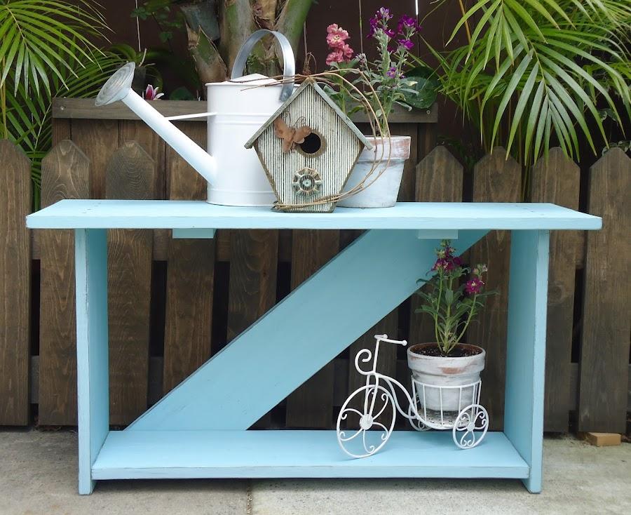 Farmhouse Garden Bench - Available $150