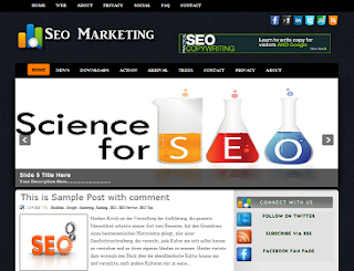 Seo Marketting Blogger Template