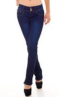 Geradegeschnitten Jeans
