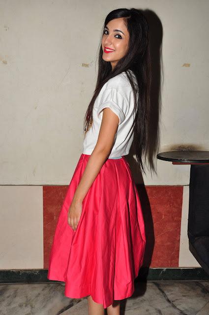Kanika Kapoor Latest Photos At Sree Mayuri Theatre