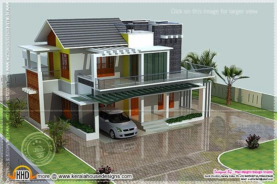 January 2014 kerala home design and floor plans 200 yards house design