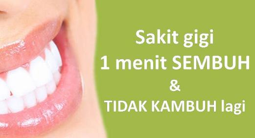 5 Obat Sakit Gigi Paling Ampuh untuk Gigi Berlubang di Dunia Tanpa Harus Beli di Apotik