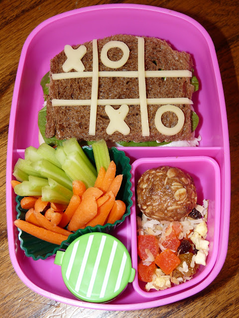 x's and o's bento lunch