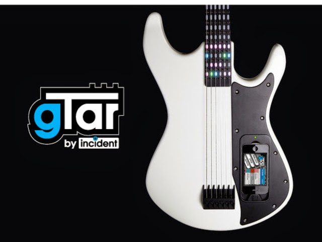 gTar by incident, iPhone guitar gadget