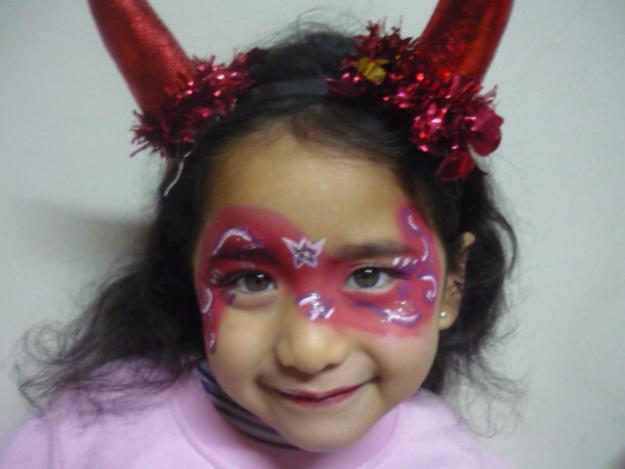 Caras pintadas para Halloween - Imagui