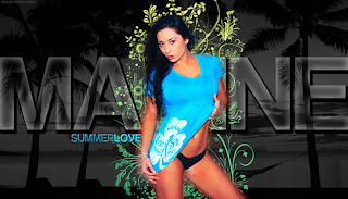 WWE Maxine hd Wallpaper