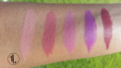 Maybelline Color Sensational Creamy Mattes swatches www.modenmakeup.com