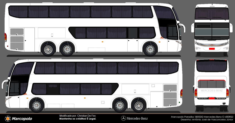 Diseños Autobuses Venezuela: Autobuses en Blanco