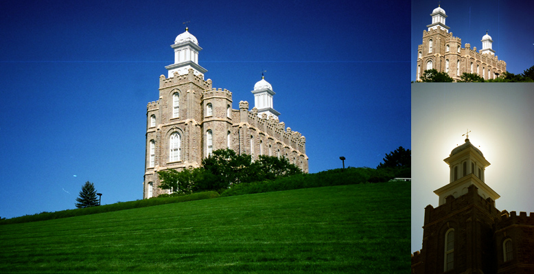 Logan Utah Temple, September 15, 1999