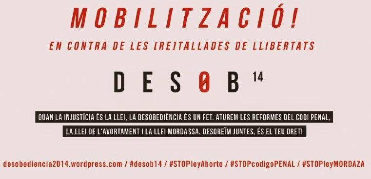 #Desobeïm2014