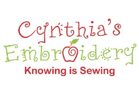 Cynthia's Embroidery