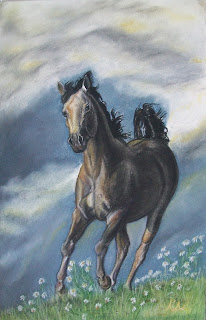 Horse, άλογο, πίνακας με άλογο, πίνακας με άλογα