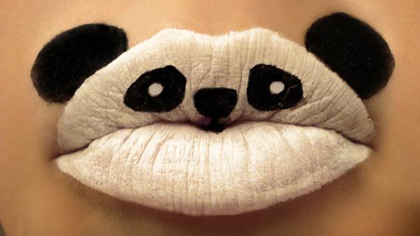 Lip Painting Art