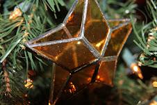 I love stars! On my tree...