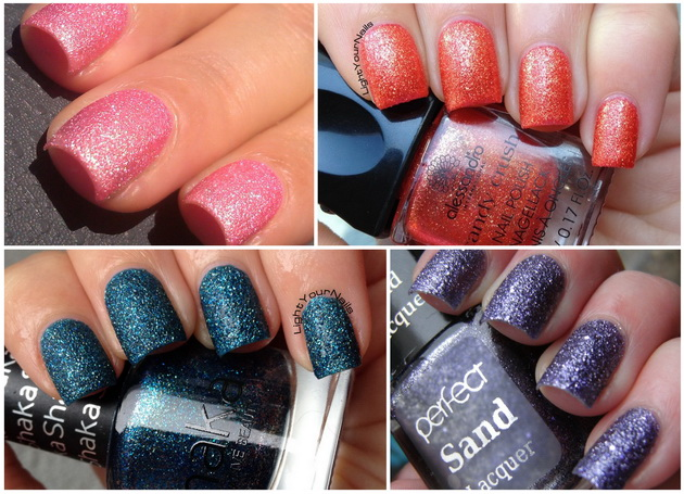 Finishpedia: textured polishes
