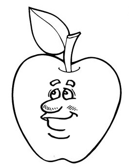 Fruit And Vegetable Coloring Pages Fun