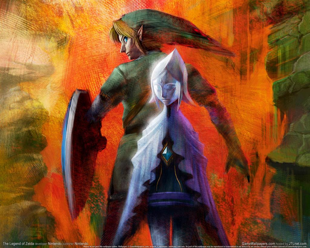 The Legend of Zelda HD & Widescreen Wallpaper 0.134624587098295