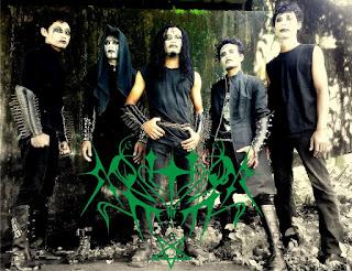 Moninggar Band Javanese Extreme Black Metal Sukoharjo Jawa Tengah Indonesia Foto Personil Cover Artwork Logo Wallpaper