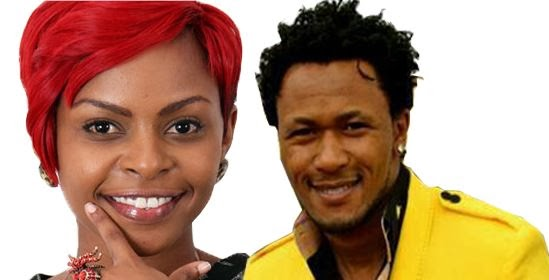 Dj Mo and recently saved singer Size 8