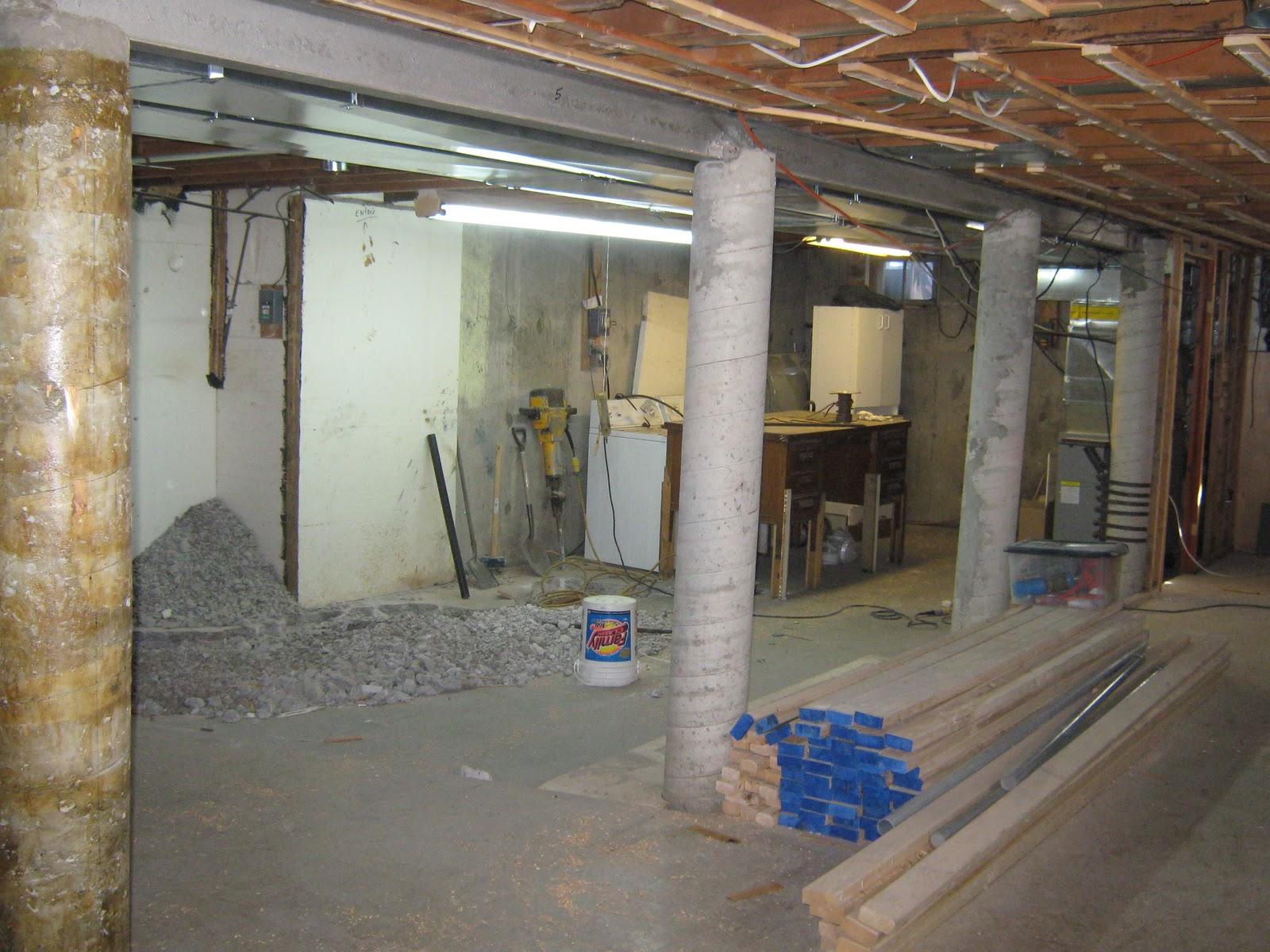 R novations de carosou dimanche mars 27 2011 for Plomberie salle de bain au sous sol