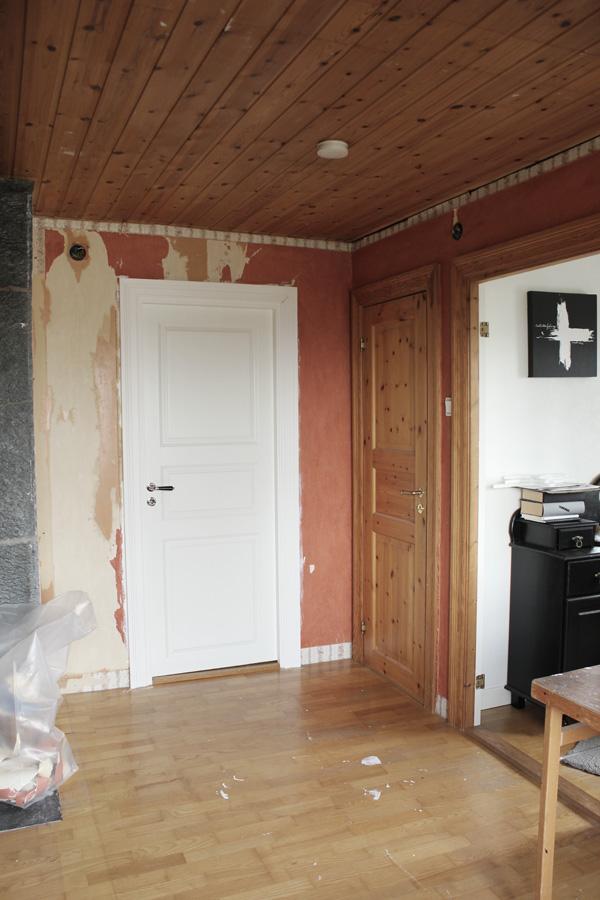 bilder på före och efter renovering av arbetsrum och kontor
