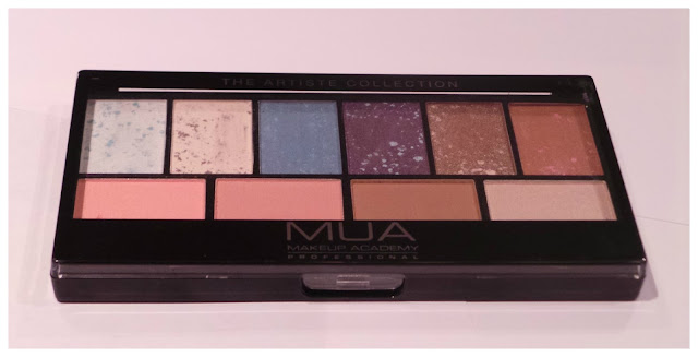 A picture of the MUA Artiste Collection Multi-use palette