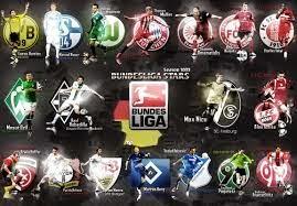 رزنامة وجدول مباريات البوندسليغا الدوري الألماني لموسم 2014-2015